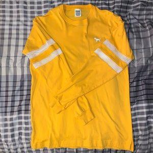 Pink yellow long sleeve 💕